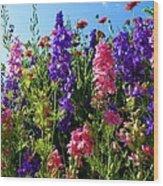 Wildflowers #14 Wood Print