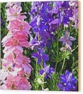 Wildflowers #16 Wood Print