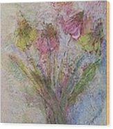 Wildflowers 2 Wood Print