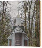 Wildwood Chapel Wood Print