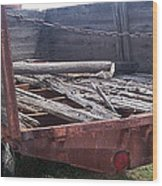 Will Not Haul Much Wood Print