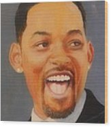 Will Smith Wood Print by Shirl Theis