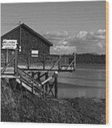 Willapa Bay I C Wood Print