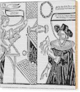 William Abell (c1584-1655) Wood Print