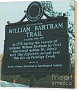 William Bartram Wood Print