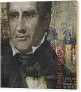 William Henry Harrison Wood Print