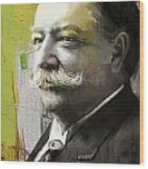 William Howard Taft Wood Print by Corporate Art Task Force