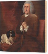 William Lowndes - A Auditor Of His Majesty's Court Of Exchequer  Wood Print