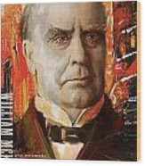 William Mckinley Wood Print