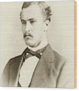 William Osler As A Medical Student Wood Print