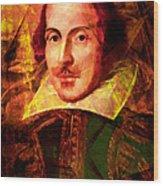 William Shakespeare 20140122 Wood Print