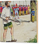 William Tell, From Peeps Into The Past Wood Print