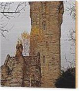 William Wallace Monument Scotland Wood Print