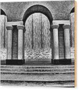 Williams Waterfall Wood Print