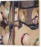 Williamsberg Hats Wood Print