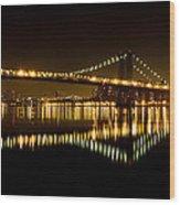 Williamsburg Bridge Wood Print