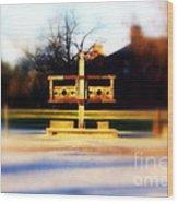 Williamsburg Stocks Wood Print