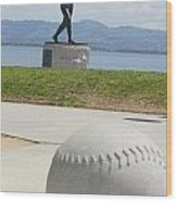 Willie Mccovey -- Giants 2014 World Champs Wood Print
