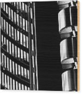 Willis Group And Lloyd's Of London Abstract Wood Print