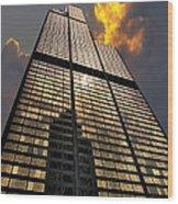 Willis Sears Tower Wood Print