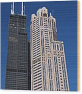 Willis Tower Chicago Wood Print