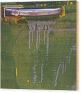 Willy's Door   #1007 Wood Print