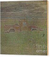 Willys Jeep 1952 Wood Print