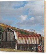 Wilson's Barn Wood Print
