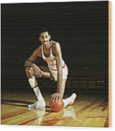 Wilt Chamberlain Wood Print by Retro Images Archive