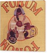 Wilt Chamberlain Vs. Kareem Abdul Jabbar Wood Print by Retro Images Archive