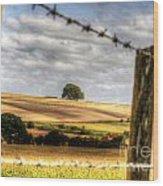 Wiltshire Wood Print