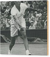 Wimbledon Championships - Second Day..., Althea Gibson In Wood Print
