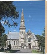 Wimborne Road Cemetery Wood Print