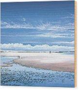 Winchelsea Beach Wood Print