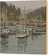 Winchester Bay Wood Print