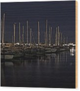 Winchester Bay Marina - Oregon Coast Wood Print