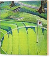 Winchester Country Club II Wood Print