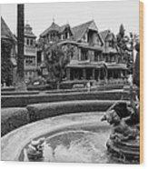 Winchester House - San Jose California Wood Print