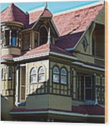 Winchester Mystery House 2 Wood Print