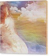 Wind Of His Glory Wood Print by Jennifer Page