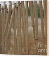 Wind Song - 2 Wood Print