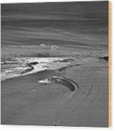 Wind Swept Bxw 2 11/24 Wood Print