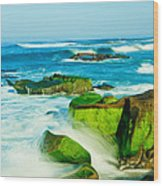 Windansea Beach 4 Wood Print