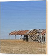 Windblown Barn Wood Print