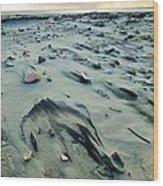 Windblown Beach Wood Print