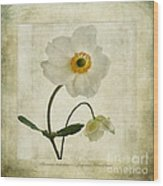 Windflowers Wood Print