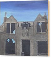 'windhouse' Wood Print