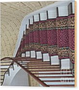 Winding Staircase Wood Print by Kathleen Struckle
