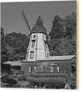 Windmill 3 Wood Print