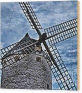 Windmill Of La Mancha Wood Print